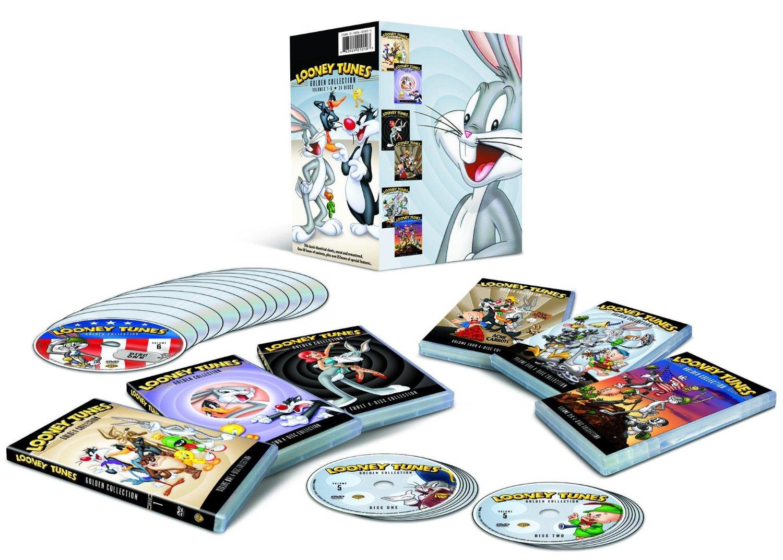 Tunes Collection Film 3 Volume Looney Golden